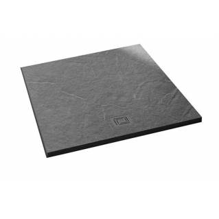 Merlyn Truestone Square Shower Tray 900 x 900mm Fossil Grey