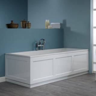 Roper Rhodes 800 Series 1700mm Gloss White Bath Front Panel