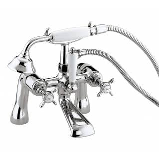 Bristan 1901 Bath Shower Mixer Tap Chrome