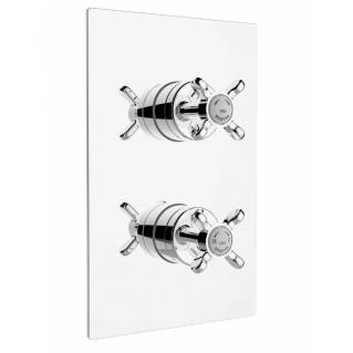 Bristan 1901 Thermostatic Recessed Two Outlet Diverter Shower Valve