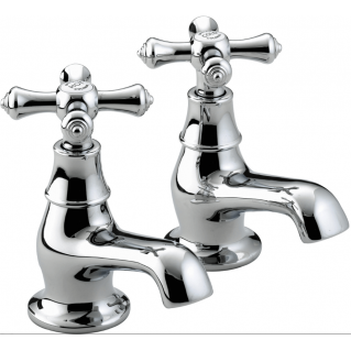 Bristan Colonial Bath Taps Chrome