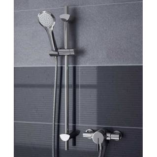 Bristan Sonique Thermostatic Exposed Mini Valve with Adjustable Riser Kit