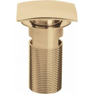 Bristan Square Clicker Basin Waste Slotted Gold
