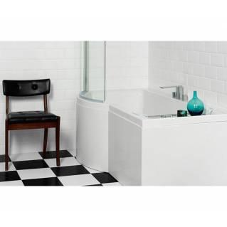 Carron Urban Shower Bath 1500 x 750/900mm Left Hand