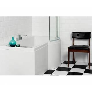 Carron Urban Shower Bath 1500 x 750/900mm Right Hand