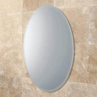 HIB Alfera Oval Mirror 540 x 420mm