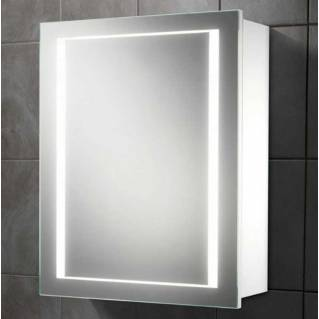 HIB Austin LED White Gloss Bathroom Cabinet 500 x 630mm
