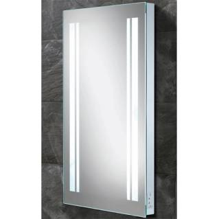 HIB Nexus Steam Free LED Mirror with Charging Socket 800 x 450mm