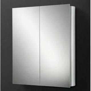 HIB Quantum Aluminium Bathroom Cabinet 600 x 700mm