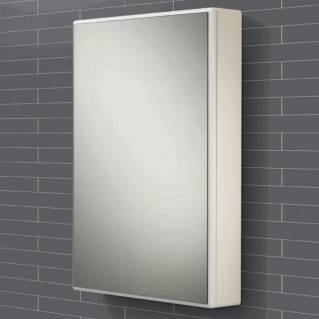 HIB Tulsa White Gloss Bathroom Cabinet 500 x 700mm