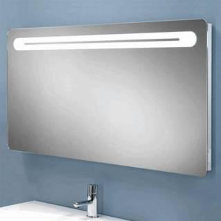 HIB Vortex Steam Free LED Mirror with Charging Socket 800 x 450mm