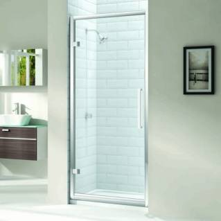 Merlyn 8 Series Hinge Shower Door with Tray 1000mm