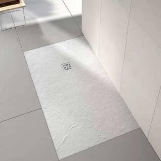 Merlyn Truestone Rectangular Shower Tray 1000 x 800mm White