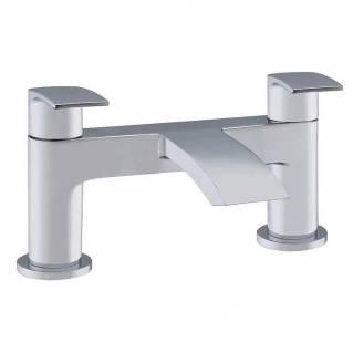 Niagara Portobello Bath Filler Chrome