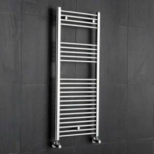 Reina Diva Electric Flat Heated Towel Rail 800 x 300mm Chrome