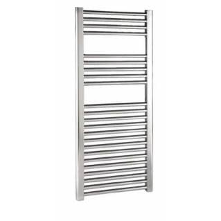 Reina Diva Thermostatic Electric Flat Heated Towel Rail 1200 x 450mm Chrome