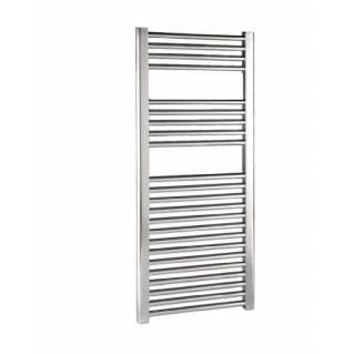 Reina Diva Electric Flat Heated Towel Rail 1200 x 450mm Chrome