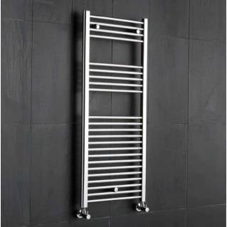 Reina Diva Flat Heated Towel Rail 1200 x 500mm Chrome