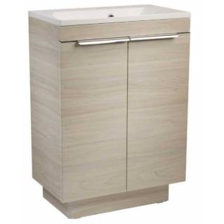Roper Rhodes Cypher 600mm Freestanding Unit with Basin Light Elm