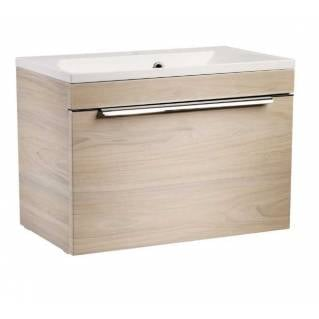 Roper Rhodes Cypher 600mm Wall Mounted Unit with Basin Light Elm