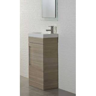 Roper Rhodes Esta 445mm Freestanding Unit with Basin Pale Driftwood