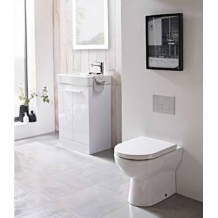 Tavistock Ion Comfort Height Back to Wall WC Pan