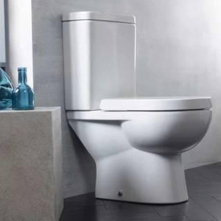 Tavistock Ion Comfort Height Close Coupled Pan with Cistern