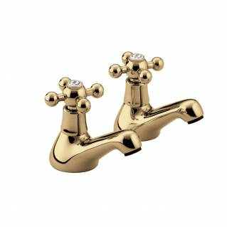 Bristan Regency Bath Taps Gold