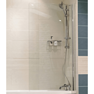 Roman Lumin8 8mm Fixed Bath Screen 800mm