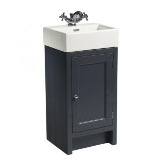 Roper Rhodes Hampton 450mm Cloakroom Unit with Basin Slate Grey