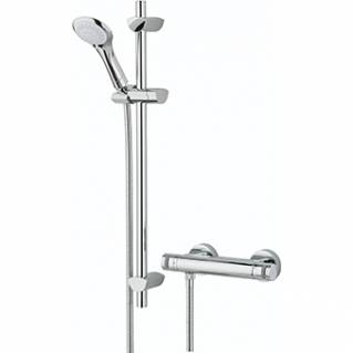 Bristan Artisan Thermostatic Bar Shower with Single Function Shower Kit