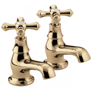 Bristan Colonial Bath Taps Gold