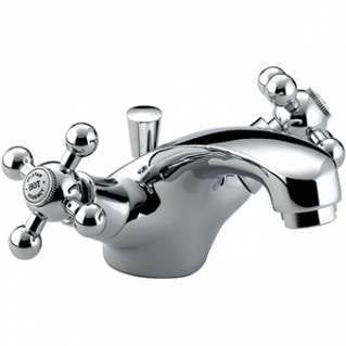 Bristan Regency Basin Mixer With Pop Up Waste Chrome