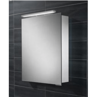 HIB Proton LED Aluminium Bathroom Cabinet 500 x 720mm