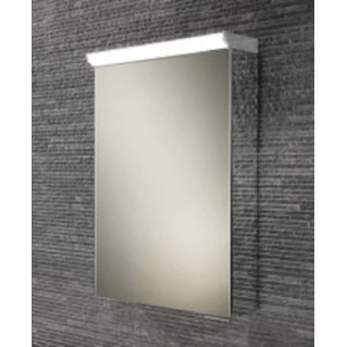HIB Spectrum LED Aluminium Bathroom Cabinet with Mirrored Sides 500 x 700mm