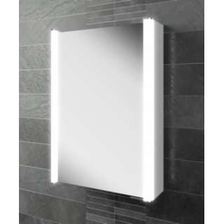 HIB Vita 50 LED Aluminium Bathroom Cabinet 500 x 700mm