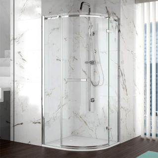 Merlyn 8 Series 1 Door Quadrant Frameless Shower Enclosure 800 x 800mm