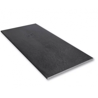 Merlyn Truestone Rectangular Shower Tray 1400 x 900mm Slate Black
