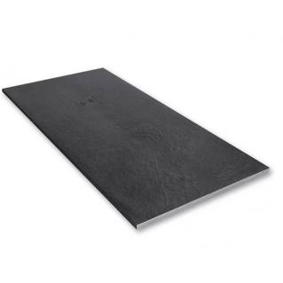 Merlyn Truestone Rectangular Shower Tray 1200 x 800mm Slate Black