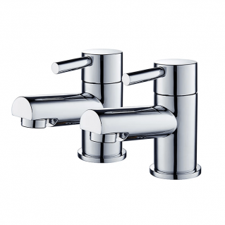 Niagara Harrow Bath Taps Chrome