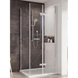 Roman Innov8 Bi-Fold Shower Door Corner Fitting 760mm