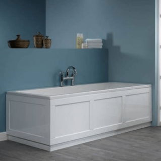 Roper Rhodes Hampton 1700mm Chalk White Bath Front Panel
