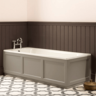 Roper Rhodes Hampton 1700mm Mocha Bath Front Panel