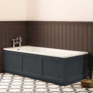 Roper Rhodes Hampton 1700mm Slate Grey Bath Front Panel