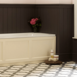 Roper Rhodes Hampton 1700mm Vanilla Bath Front Panel