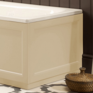 Roper Rhodes Hampton 700mm Vanilla Bath End Panel