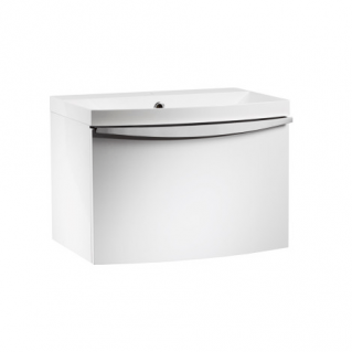 Roper Rhodes Serif 600mm Wall Mounted Unit with Basin Gloss White