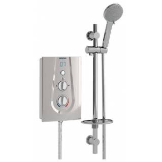 Bristan Joy Thermostatic 8.5kw Electric Shower Matt Silver