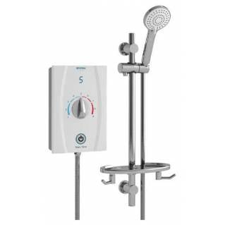 Bristan Joy Care Thermostatic 8.5kw Electric Shower White