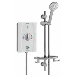 Bristan Joy Care Thermostatic 9.5kw Electric Shower White
